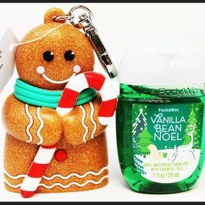 Gingerbread Holder & Vanilla Bean Noel Sanitizer